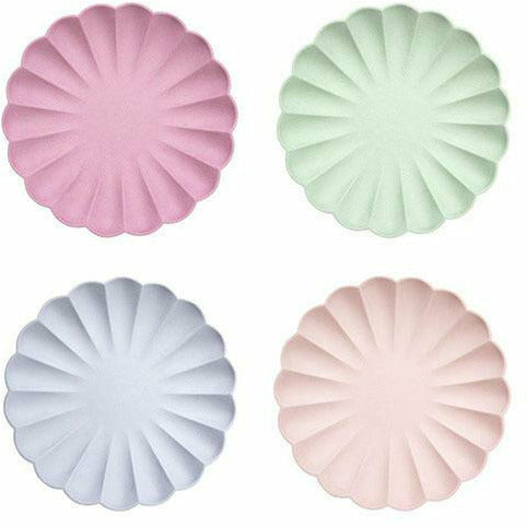 Multicolor Simply Eco Large Plates