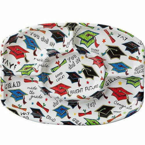 Multicolor Graduation Sectional Platter