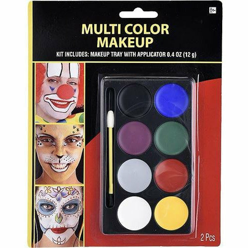Multicolor Makeup Kit 2pc