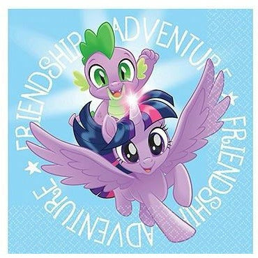 My Little Pony Friendship Adventure Beverage Napkins 16c