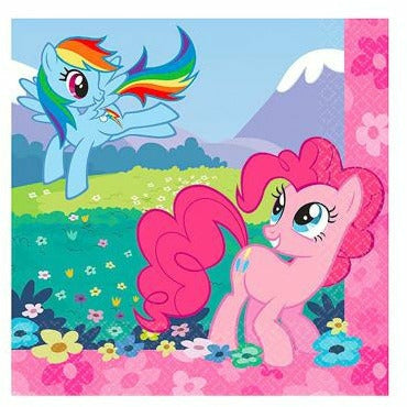 My Little Pony Beverage Napkins 16ct