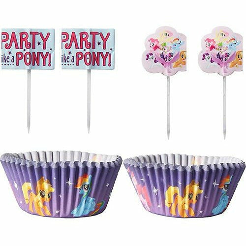 My Little Pony Cupcake Decorating Kit for 24