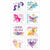 Pony Power My Little Pony Tattoos 1 Sheet