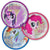 Prismatic Friendship Adventures My Little Pony Dessert Plates 8ct