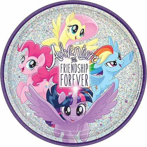 Prismatic My Little Pony Lunch Plates 8ct