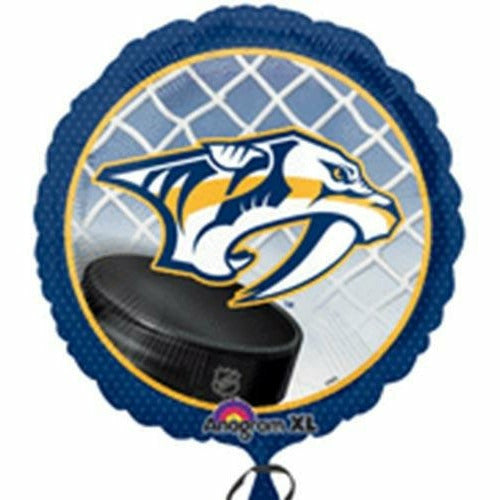 "912 NHL Nashville Predators 18"" Mylar Balloon"