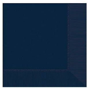 True Navy Blue Beverage Napkins 50ct