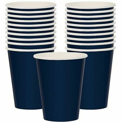True Navy Blue Paper Cups 20ct