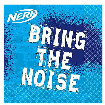 Nerf Beverage Napkins 16ct