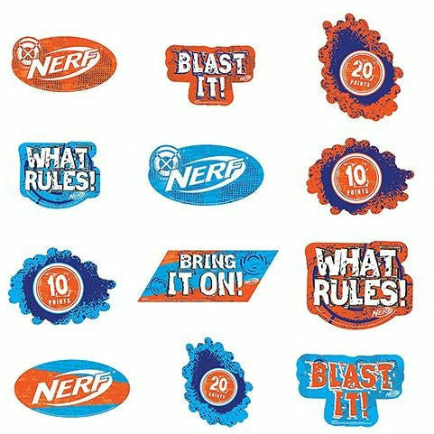 Nerf Cutouts 12ct