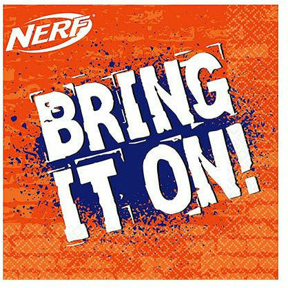 Nerf Lunch Napkins 16ct