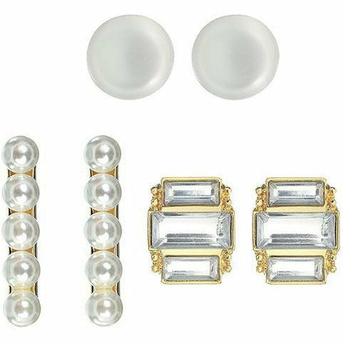 New Year's Eve Pearl Earring Set 6pc