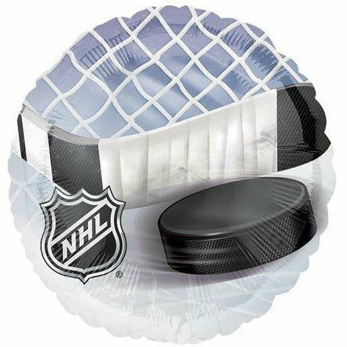 "914 NHL Hockey 18"" Mylar Balloon"