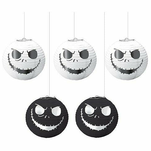 The Nightmare Before Christmas Paper Lanterns 5ct