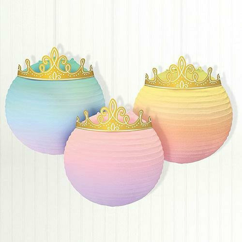 Disney Once Upon a Time Paper Lanterns 3ct