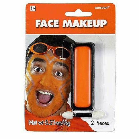 Orange Face Paint Makeup