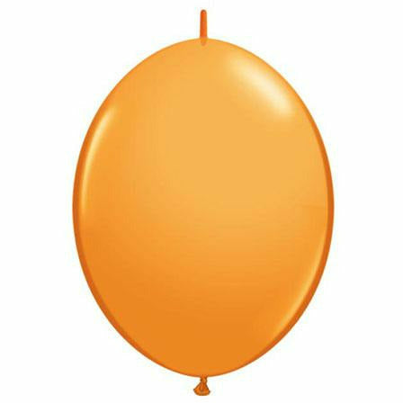 "Orange QuickLink 12"" Latex Balloon"