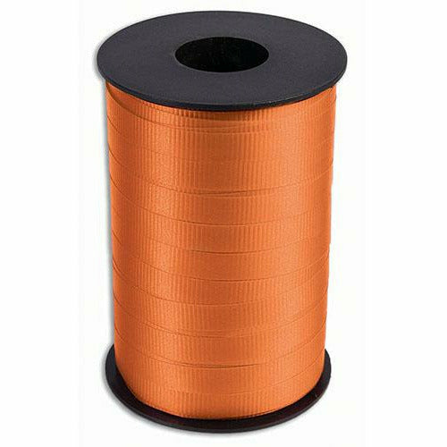 "Orange Curling Ribbon 3/8"" x 250 Yards"