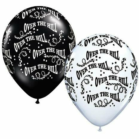 "Over the Hill Mixed Assortment 11"" Latex Balloon"