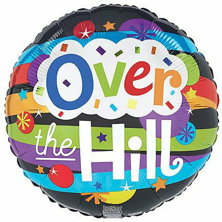 "491 Over the Hill 18"" Mylar Balloon"
