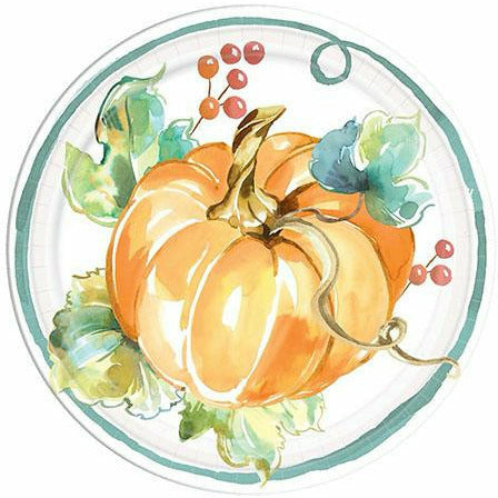 Painted Fall Dessert Plates 8ct