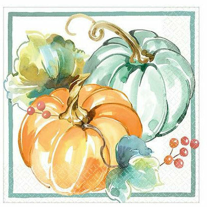 Painted Fall Lunch Napkins 16ct