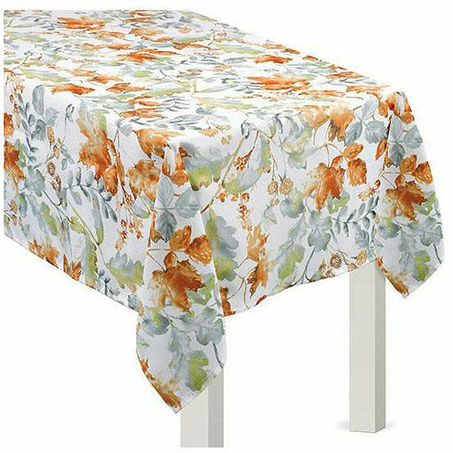 Painted Fall Fabric Table Cover