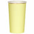 Pale Yellow Highball Cups