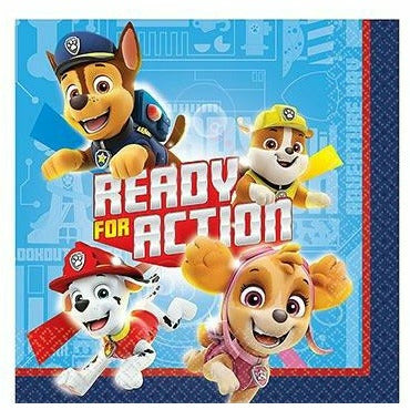 PAW Patrol Adventures Beverage Napkins 16ct