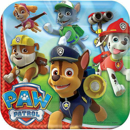 PAW Patrol Lunch Plates 8ct