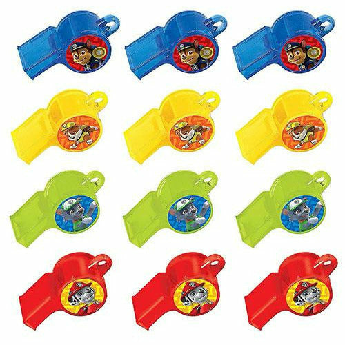 PAW Patrol Whistles 12ct