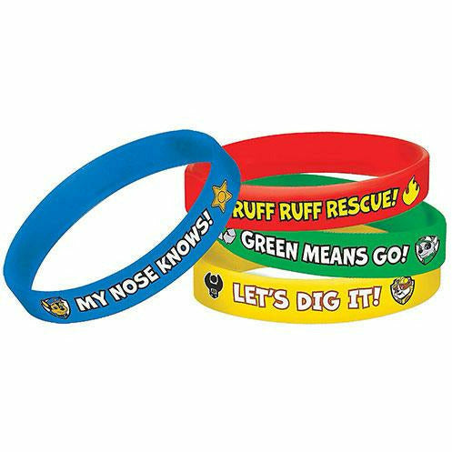 PAW Patrol Wristbands 4ct