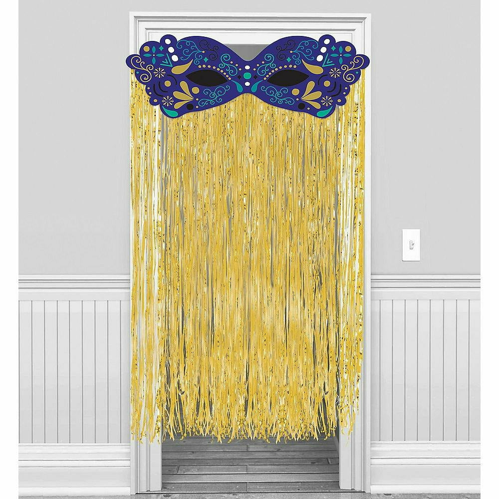 A Night in Disguise Masquerade Doorway Curtain