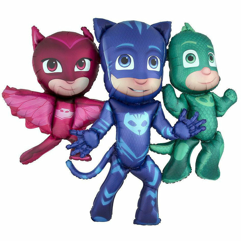 "*A014 PJ Masks Airwalker 50"" Mylar Balloon"