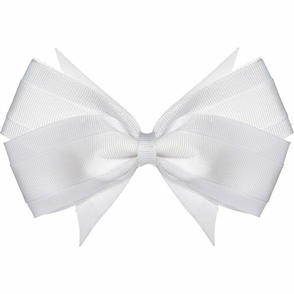 White Hair Bow