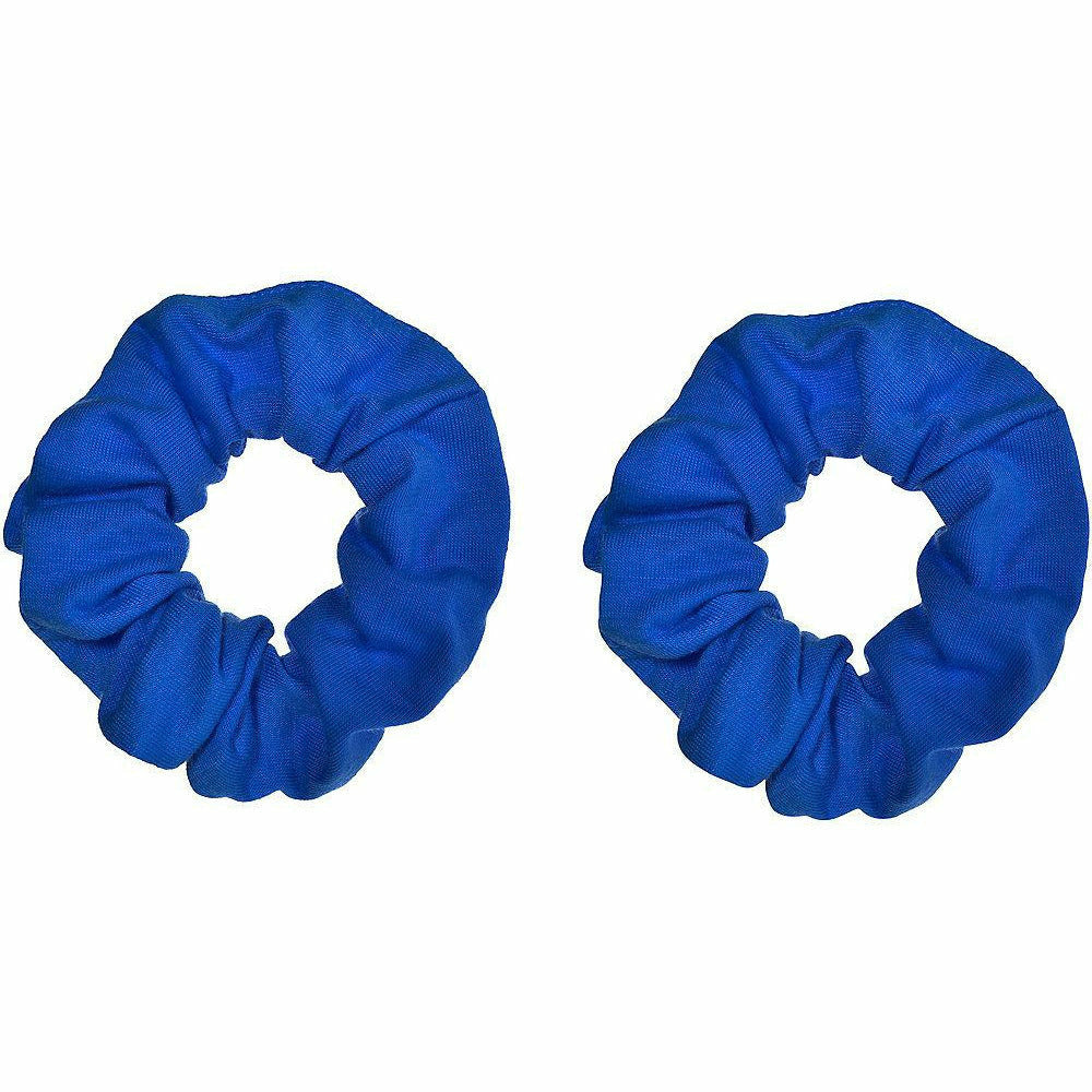 Blue Hair Scrunchies 2ct