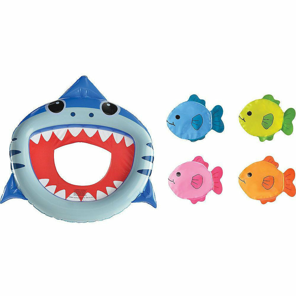 Inflatable Shark Toss Game - H1