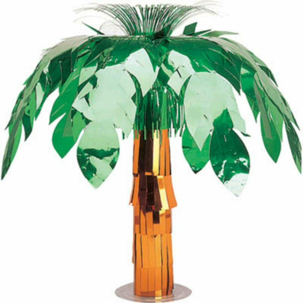 Metallic Palm Tree Centerpiece