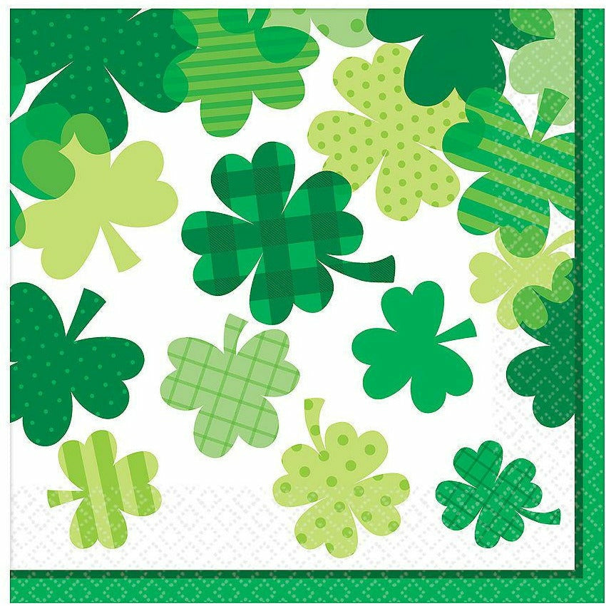 Blooming Shamrock Lunch Napkins 36ct