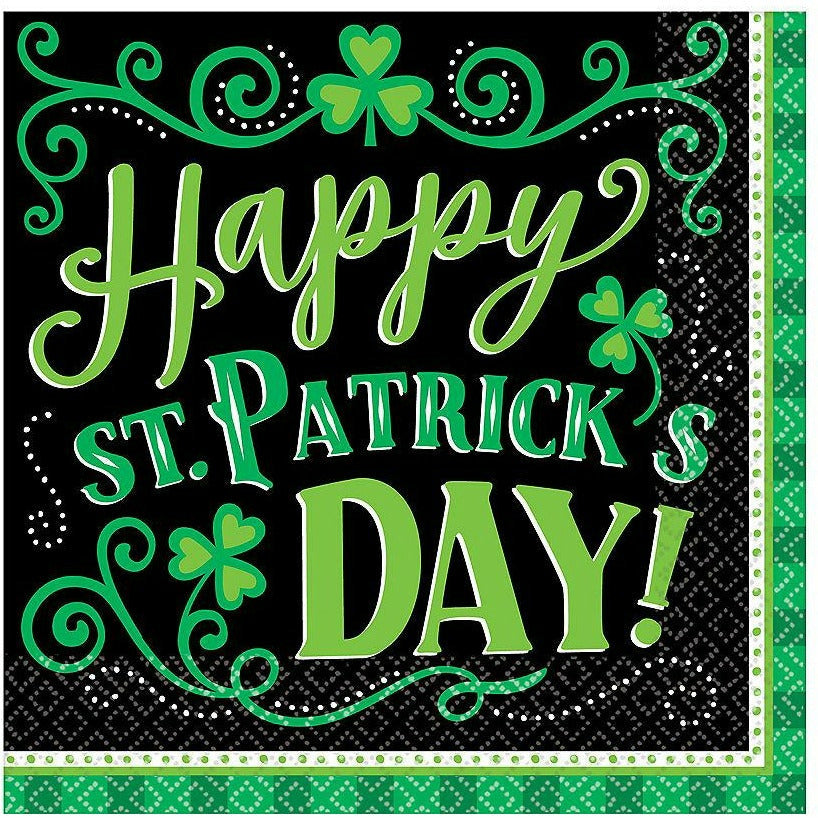 Clover Me Lucky Lunch Napkins 125ct
