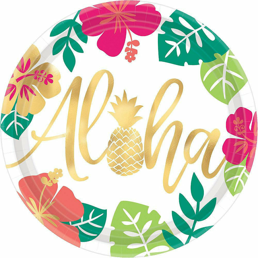 You Had Me at Aloha Dinner Plates 8ct - H11