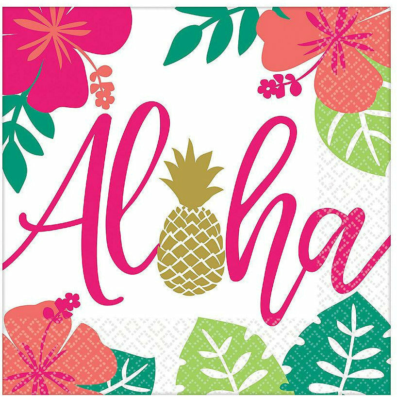 You Had Me at Aloha Lunch Napkins 16ct