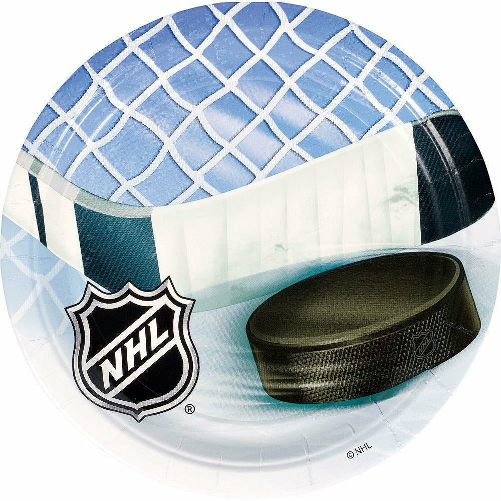 NHL Ice Time Lunch Plates 8ct