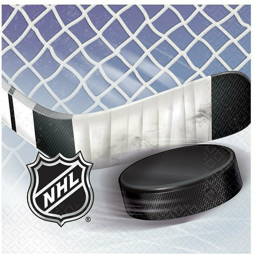 NHL Ice Time Lunch Napkins 16ct