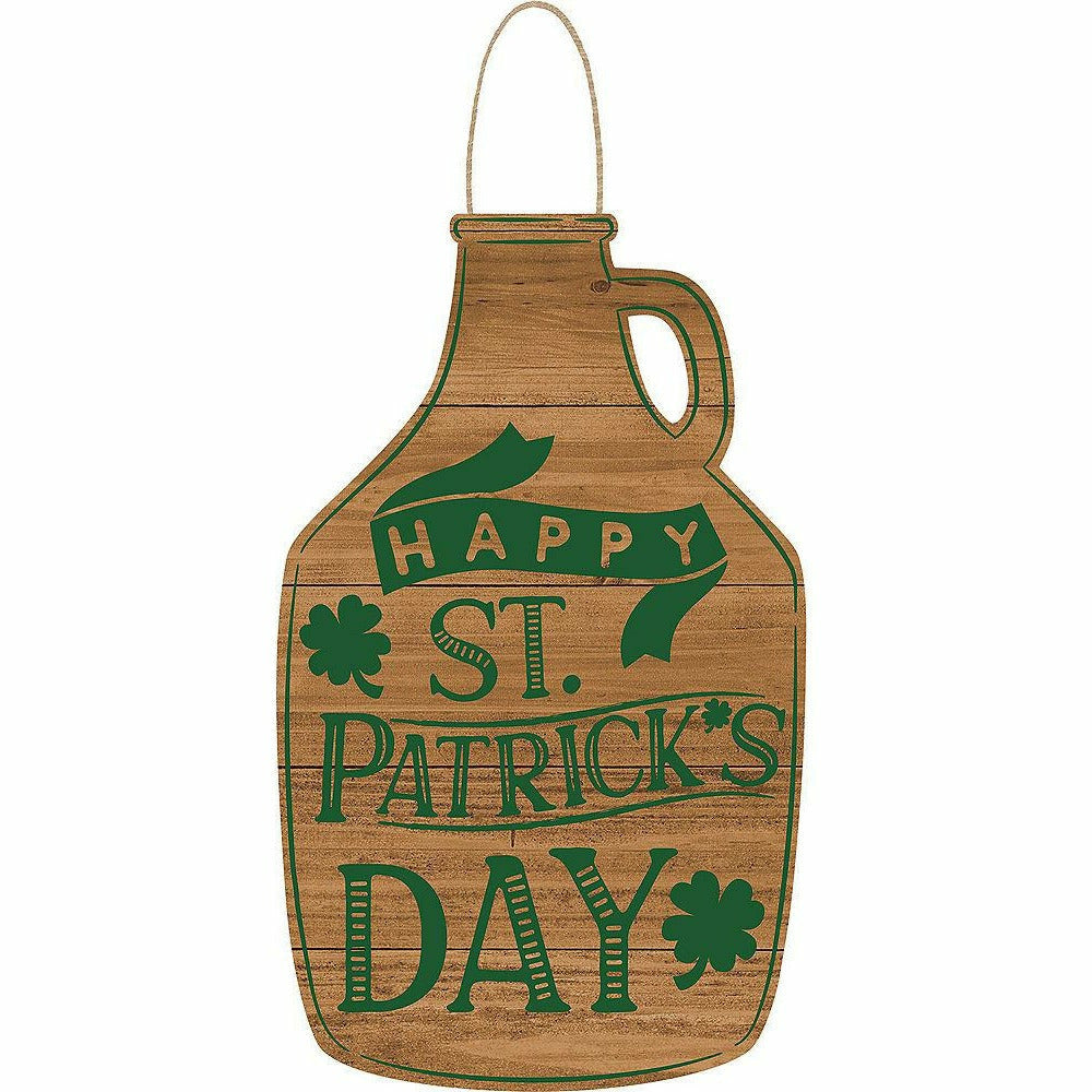 Happy St. Patrick's Day Growler Sign