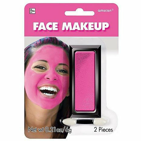 Pink Face Paint Makeup