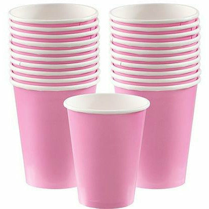 Pink Paper Cups 20ct