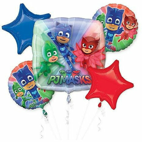 PJ Masks Balloon Bouquet 5pc
