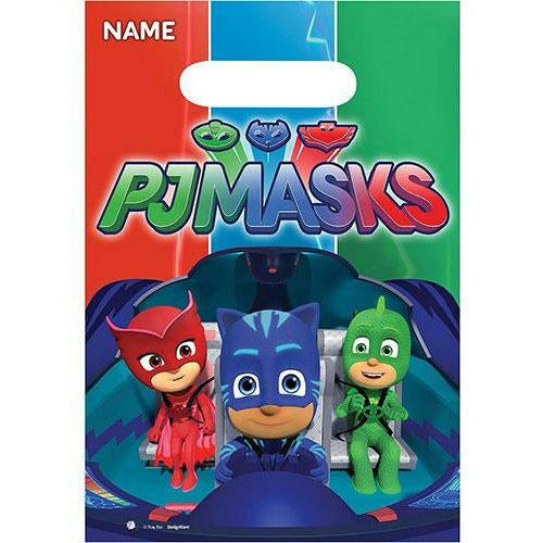 PJ Masks Favor Bags 8ct