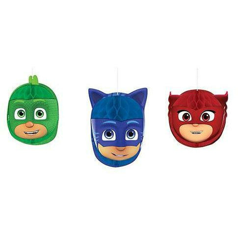 PJ Masks Honeycomb Balls 3ct